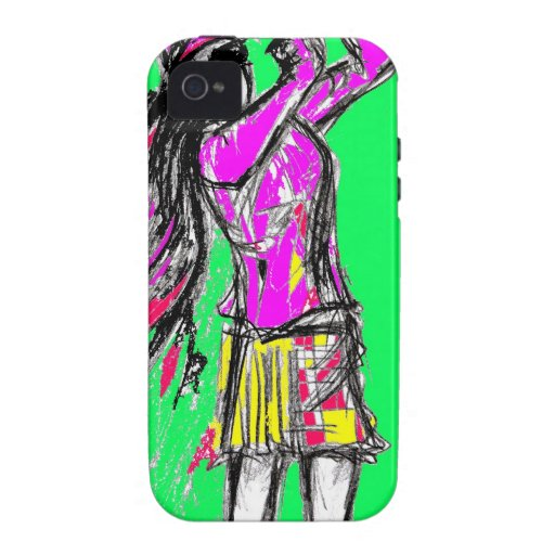 girl power vibe iPhone 4 covers