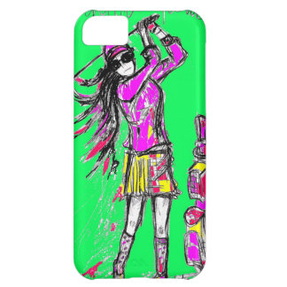 girl power iPhone 5C cover