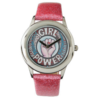 Girl Power Flower Power Progressive Statement Watch
