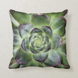 Girl Power Green Leaves Pillow
