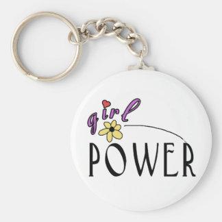 Girl Power Key Ring