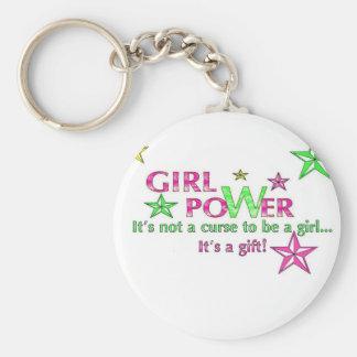 girl power keychain