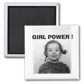 GIRL POWER ! MAGNET