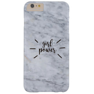 Girl Power Marble Barely There iPhone 6 Plus Case