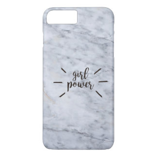 Girl Power Marble iPhone 7 Plus Case