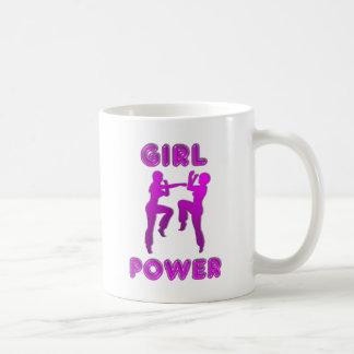 Girl Power Martial Arts Females Coffee Mug