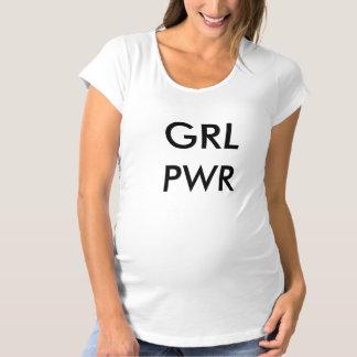 Girl Power Maternity T Shirt