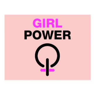 Girl Power Postcard