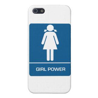 Girl Power Restroom Door Cases For iPhone 5