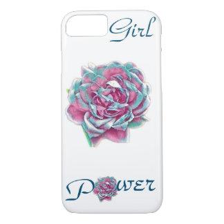 Girl power rose phone case
