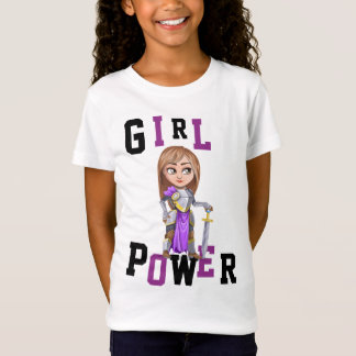 GIRL POWER TSHIRTS - personalized KNIGHTS