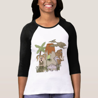 Girl Prehistoric Life T-shirts and Gifts
