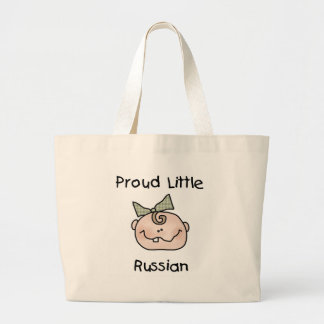Girl Proud Little Russian Canvas Bags