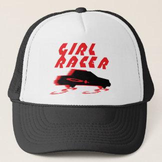 GIRL RACER TRUCKER HAT