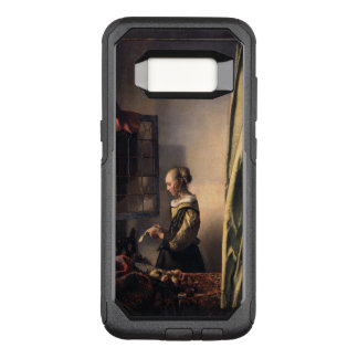 Girl Reading Letter at Open Window Vermeer OtterBox Commuter Samsung Galaxy S8 Case