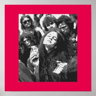 Girl' S *Hippie-Actittude* Poster
