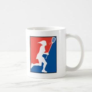 Girl s Lacrosse Coffee Mugs