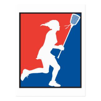 Girl s Lacrosse Postcards