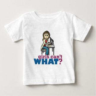 Girl Scientist Baby T-Shirt