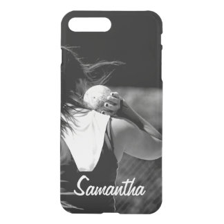 Girl Shotput thrower iPhone 7 Plus Case