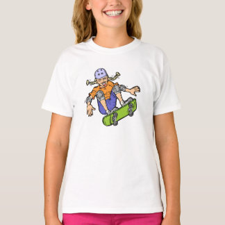 Girl Skateboarding Skateboarding Fun Skateboard T-Shirt
