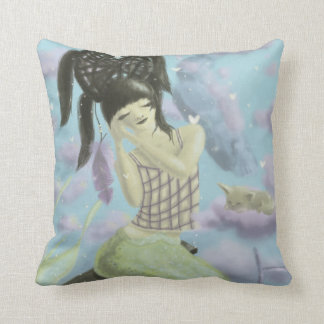 Girl Sleeping Dream Pillow