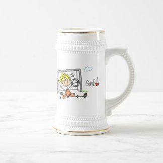 Girl Soccer Goal Keeper T-shirts and Gifts Mug