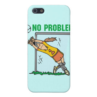 Girl Soccer Goalie and Gifts iPhone 5/5S Cover