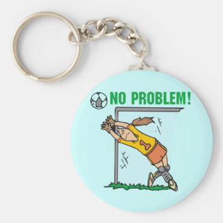 Girl Soccer Goalie Tshirts and Gifts Key Chains