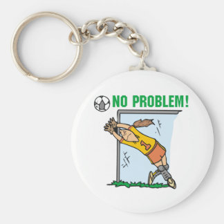 Girl Soccer Goalie Tshirts and Gifts Keychain