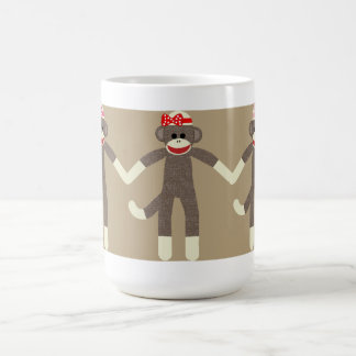 Girl Sock Monkeys mug