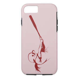 Girl Softball Hitter iPhone 8/7 Case