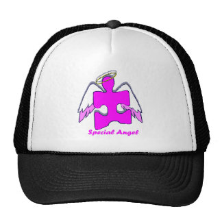 Girl Special Angel Mesh Hats