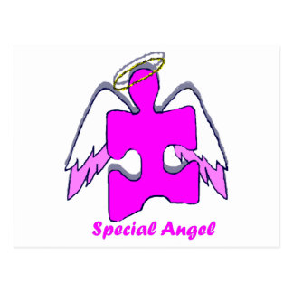 Girl Special Angel Postcard