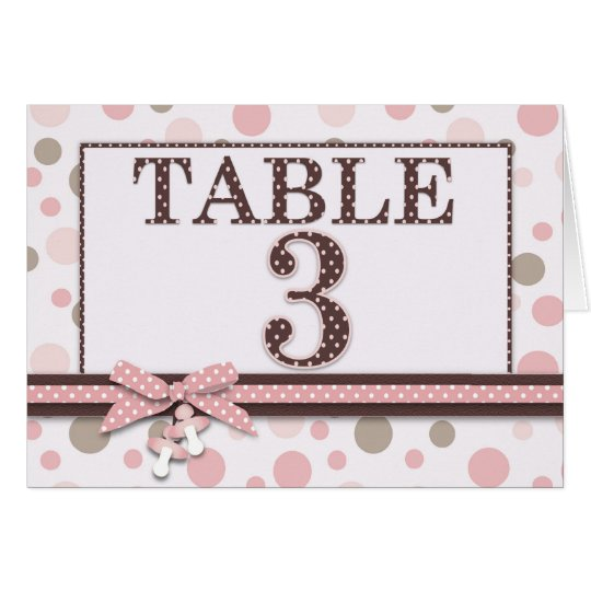 Girl Table Card 3