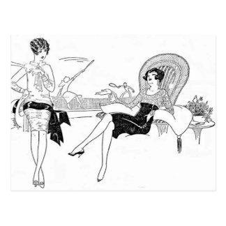 Girl Talk Postcard