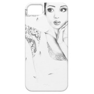 Girl tattoo Asia Barely There iPhone 5 Case