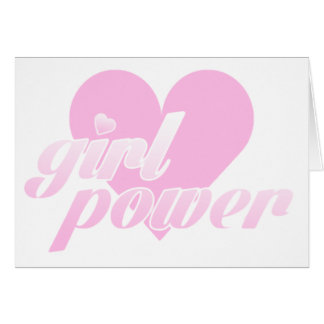 girl to power card