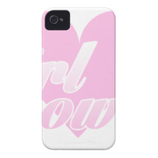 girl to power iPhone 4 case
