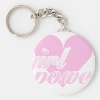 girl to power key ring