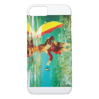 Girl touching the fish iPhone 7 case