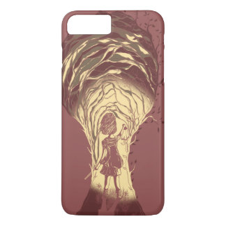 girl, tree and wand iPhone 7 plus case
