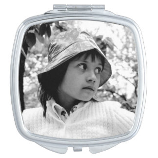 Girl Vintage 70ties Compact Mirrors