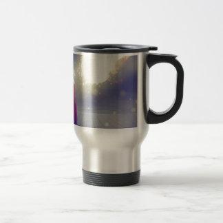 Girl vs. a Meteor Travel Mug