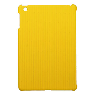 Girl Walking Against Enormous Yellow Wall iPad Mini Cover