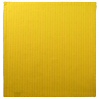 Girl Walking Against Enormous Yellow Wall Napkin