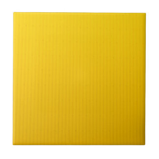 Girl Walking Against Enormous Yellow Wall Tile