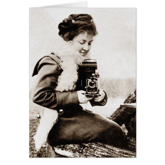 Girl With a Kodak Card