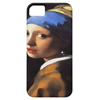 Girl with a Pearl Earring After Johannes Vermeer Barely There iPhone 5 Case