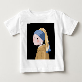 Girl with a Pearl Earring Baby T-Shirt